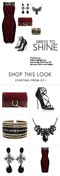 """Untitled#14"" by almamehmedovic-79 ❤ liked on Polyvore featuring Chloé, Dolce&Gabbana, Eloquii, Oscar de la Renta and Karen Millen"