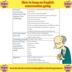 How to keep an English conversation going. Ways to avoid awkward silence. Part 3