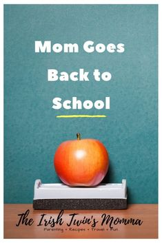 Mom Goes Back to School - The Irish Twin's Momma Single Parenting, Parenting Advice, Kids And Parenting, Back To School List, School Fun, Irish Twins, Find My Passion, Importance Of Time Management, Nursing Assistant