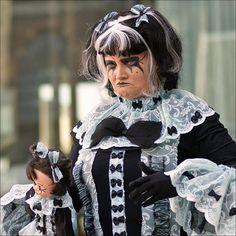 "World Statues: ""Lolita Gothic Doll"" by Foto Martien, via Flickr"