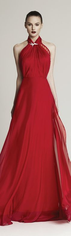 red evening gown maxi dress women fashion outfit clothing style apparel @roressclothes closet ideas