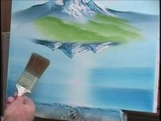 How to Paint Water with Mountains (7 of 19)