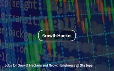 Jobs for Growth #Hackers and Growth #Engineers 🤓 @ Startups 🎉 https://tapwage.com/channel/growth-hacker