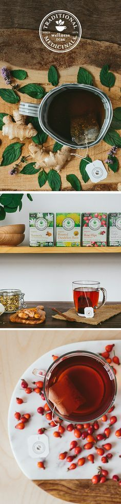 Is your cupboard stocked with herbal teas for every day? At Traditional Medicinals, our herbalists create unique medicinal blends to help you from sunrise to sunset. Awaken your taste buds with our Rose Hips with Hibiscus tea. Recovering from a workout? Steep a cup of Turmeric with Meadowsweet & Ginger. Seeking a gentle, natural detox? Get support with Roasted Dandelion Root. Or, combat stress by sipping Tulsi with Ginger.