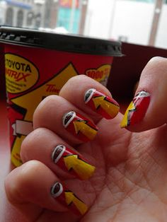 Roll up the rim nails.