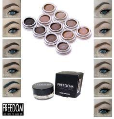 Brow Pomade Freedom Make up Eyebrow Liner HD Brow Gel ALL SHADES
