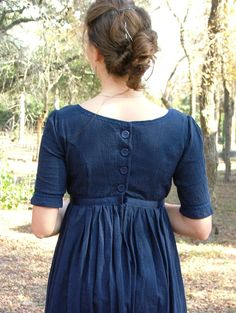 Regency Gown Jane Austen Dress CUSTOM Made For by SewManyTreasures, $135.00