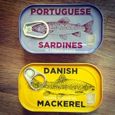 Tinned Fish – via Free Flavour