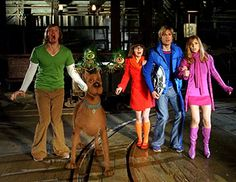You: Velma, Shaggy, Fred, or Daphne Your pet: Scooby-Doo, the dog Going out with a bigger group than just your Great Dane? Enlist them to join your Scooby gang Velma Scooby Doo, Scooby Doo Movie, Movie Co, Love Movie, Two Movies, Classic Movies, Movies Showing, Movies And Tv Shows, Scooby Doo Mystery Inc