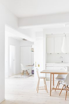 Really white kitchen by Fantastic Frank