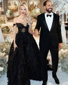 What do you think about @thechristinequinn black wedding dress  Totally binged t Princess Style Wedding Dresses, Wedding Dress Trends, Black Wedding Dresses, Designer Wedding Dresses, Queen, Women's Fashion Dresses, Special Occasion Dresses, Strapless Dress Formal, Wedding Photoshoot