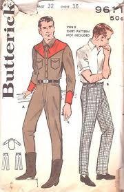 vintage mens patterns - Google Search