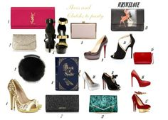 WHYWELOVE THE NEW YEAR'S EVE SHOES AND CLUTCHES TO PARTY