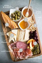 45 Ideas For Cheese Board Platter Tapas Snacks Für Party, Appetizers For Party, Appetizer Recipes, Meat Appetizers, Antipasto Recipes, Game Night Snacks, Party Trays, Recipes Dinner, Dinner Ideas