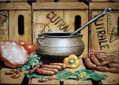 Cozinhando - Cód 1271 - Bancos e Banquetas - Madeira de Demolição - Barrocarte