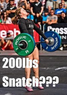 Lift like Lindsey: Tracking Valenzuela's Never-Ending Olympic Weightlifting PR's #CrossFit #WOD #Gym #Exercise #Reebok #Training #Games #Competitor #Fitness