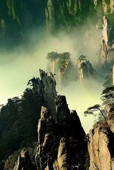 tianzi mountain paths - china