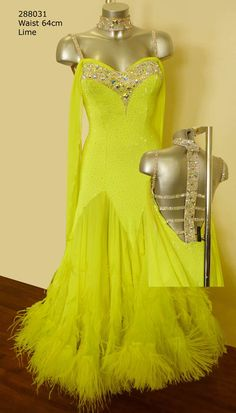 Pretty Pretty Back #Yellow #Ballroom http://www.dancinfeelin.com/
