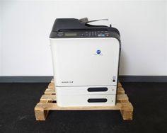 Digitaler Farbkopierer Konica Minolta C 20 - Digitale Laserdrucker Xerox und Samsung - Karner & Dechow - Auktionen Keurig, Coffee Maker, Kitchen Appliances, Samsung, Laser Printer, Auction, Printing, Colors, Coffee Maker Machine