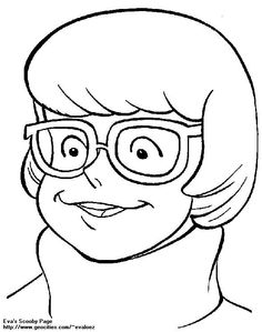 Scooby-Doo And The Case Of The Over-The-Counter Reading Glasses - Coloring Home Pages Scooby Doo Coloring Pages, Quote Coloring Pages, Fall Coloring Pages, Disney Coloring Pages, Coloring Books, Family Guy Cartoon, Velma Scooby Doo, Nail Drawing, Velma Dinkley