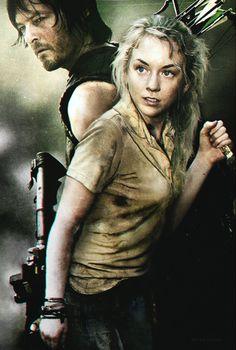 Daryl and Beth - 3 by PhlegmaticPerson.deviantart.com on @deviantART