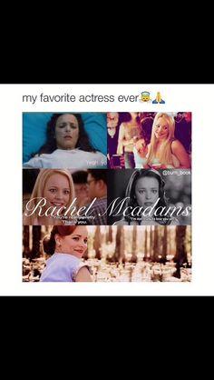 I LOVE HER 😍 #rachelmcadams #reginagorge #thenotebook #meangirls