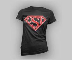 WMNS DST Super Frame Tee Delta Sigma Theta DST Devastating Diva