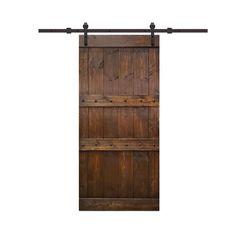 Interior Sliding Barn Doors, Sliding Door Hardware, Sliding Doors, Rustic Interior Doors, Interior Ideas, Knotty Alder Doors, Knotty Pine, Wood Barn Door, Rustic Doors