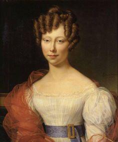 *ALEXANDRE-JEAN DUBOIS-DRAHONET 1791-1834, Portrait of a woman, 1825