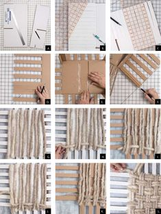 Finding Card Making Supplies For Your Craft Rope Crafts, Diy Home Crafts, Arts And Crafts, Diy Storage Boxes, Craft Storage, Diy Clothes Storage, Sell Diy, Diy Crafts To Sell, Weaving Projects