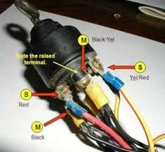 1956 Chevy Ignition Switch Diagram | 56 bel air ignition ...