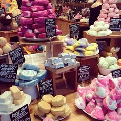 Anything from Lush is incredible. Would love to get bath bombs or soaps in a stocking!