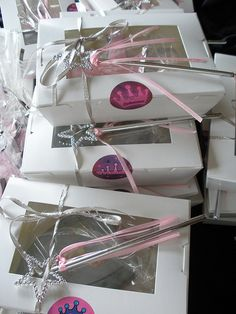 princess party favours boxed