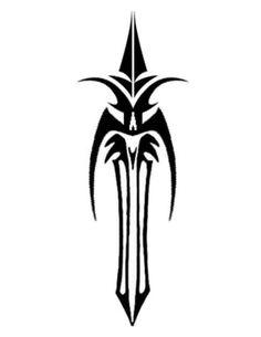 tribal-dagger-tattoo.jpg (501×649)