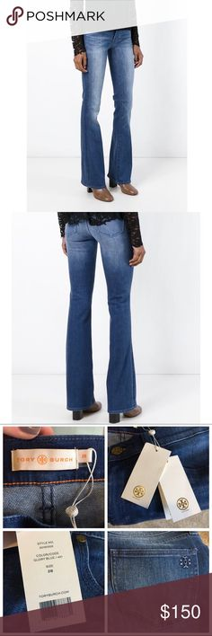 ✨ NWT - Tory Burch - Boot Cut Jeans - 28 Brand new with tags. Tory Burch bootcut jeans size 28. Stretchy denim and fits true to size. ✨ NO trades • NO lowballing • Bundle for a discount ✨ Tory Burch Jeans Boot Cut