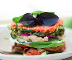 Impress your dinner guests with this flavorful and healthy raw lasagna as an entree or main dish.  http://stalkerville.net/ #paleo