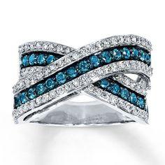 rings for women | blue diamond rings for women Blue Diamond Rings in Their Unbeatable ...