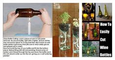 Now You Can Pin It!: Easily Cut Glass Bottles
