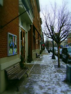 Downtown Franklin, Tennessee ~ This little town is so cool, I really enjoyed myself when I was there!
