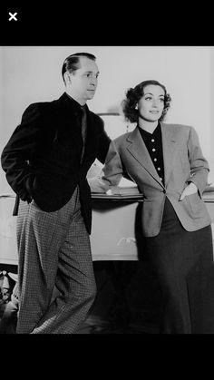 Franchot Tone and Joan Crawford