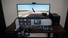 Who hasn't thought about building your own airplane cockpit in your garage? Here's step-by-step guide, to show you what it takes to build your own home cockpit! Flight Simulator Cockpit, Microsoft Flight Simulator, Ultralight Plane, Aircraft Instruments, Glass Cockpit, Air Traffic Control, Pilot Training, Best Flights, Build Your Own House