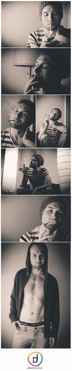 www.deformo-grafikdesign.de #portrait #berlin #schwarzweiß #mann #male #shooting #zigarette #blackandwhite