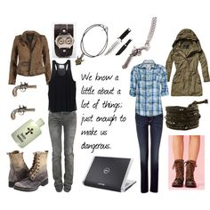 """""""Dean & Sam Winchester"""" by favourite-fictional-fashions on Polyvore"""