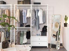 Best Du bist auf der Suche nach einem begehbaren oder Kleiderschrank Entdecke unsere ELVARLI System ALGOT System u offenen PAX Kleiderschr nke