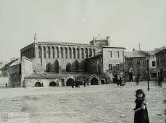 Stara Synagoga przy ul. Szerokiej. Koniec XIXw?