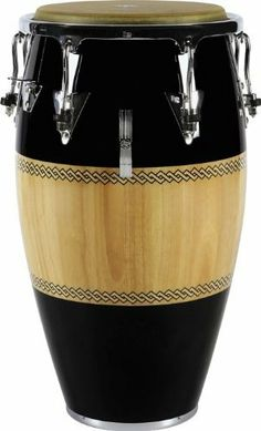 "LP Performer Series Tumba Black/Natural Chrome Hardware by LP. $269.99. The Latin Percussion Performer Series Tumba resonates with rich lower conga family frequencies. It provides superb melodic potential and an excellent voice for soloing. Big 12-1/2"" drum head. The tumba shell is made of rugged Siam oak. EZ-Curve reinforced rims make this Latin Percussion Tumba easy on the hands. Chrome hardware finishes off your Performer Series Tumba in style.. Save 36% Off!"