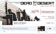 Dead in the Desert - Join us for limited screening, fundraiser and live music! https://www.facebook.com/events/246582738778510/