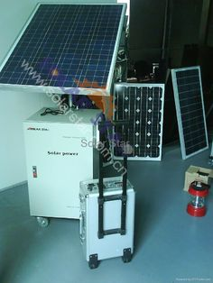 Portable Solar Power System Solar power is known as a clean as well as cheap… Portable Solar Power, Solar Power System, Solar Panels, Cleaning, Sun Panels, Solar Energy System, Solar Panel Lights, Home Cleaning