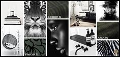 #Color #Inspiration #Black #Interiordesign