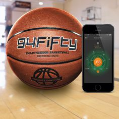 If you got game, the 94Fifty Smart Sensor Basketball will track your moves and send all the feedback and information instantly to your smartphone. It'll provide realtime audio and visual feedback to point out flaws. It also makes the coach's job really easy by quantifying all the things that coaches look for.